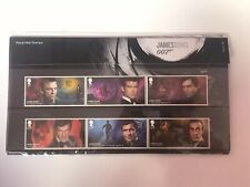 **JAMES BOND ROYAL MAIL UK SOUVENIR STAMP PACK 2020 - NEW CONDITION**