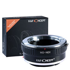 MD-NEX Adapter Minolta MD Mount Lens to Sony E NEX-5 7 3 F5 5R C3 K&F Concept