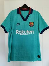 More details for barcelona third 2019 - 2020 football shirt mens large vaporknit authentic