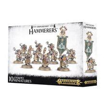Warhammer Age of Sigmar Dispossessed Hammerers Dwarves plastic box new