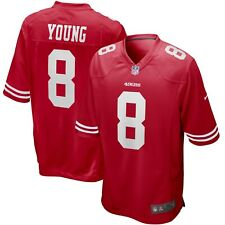 San Francisco 49ers Steve Young #8 Nike Men's NFL Game Retired Player Jersey