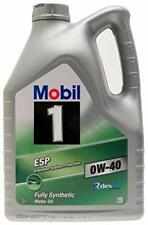 MOBIL 1 OIL FULLY SYNTHETIC ESP 0W40 0W-40 5L