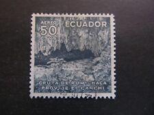 1957/58 - ECUADOR - RUMICHACA GRUTA - SCOTT 626 A216 50C