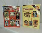 1993 & 1998 SCHROEDERS ANTIQUE PRICE GUIDES COLLECTORS BOOKS