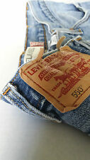 """Levi 550 38x30 Mens """"RELAXED FIT"""" FRAYED JEANS FREE SHIPPING w/$24.49 BUY IT NOW"""
