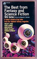 THE BEST FROM FANTASY & SCIENCE FICTION 16TH SERIES (Philip K. Dick)
