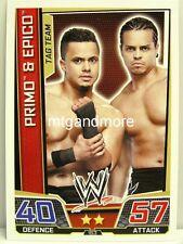 Slam ATTAX Superstars - #163 Primo & Epico