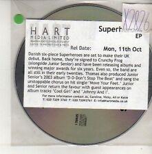 (CU725) Superheroes, Superheroes EP - DJ CD
