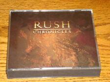 RUSH CHRONICLES 2-CD SET  MINT !