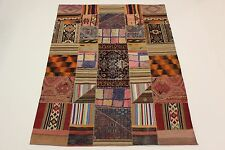 nomades patchwork Délavé Used Look PERSAN TAPIS tapis d'Orient 3,00 x 2,12