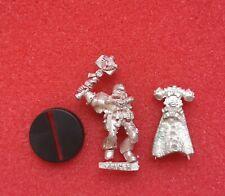 Citadel Warhammer40k Space Marines Salamanders Chaplain Xavier Metal Oop Rare