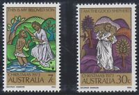 Australia Post - Design Set - MNH - Decimal - Christmas 1973