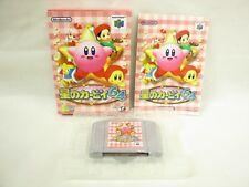 STAR KIRBY 64 Nintendo 64 Import Japan Video Game n6