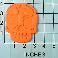 Sugar Skull Fondant Cookie Cutter AND Stamp #1568