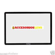 PROTECTOR DE PANTALLA  PARA CANON EOS 70D DSLR ,FABRICADO EN CRISTAL OPTICO  LCD