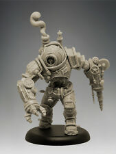 STEAM POWERED ARMOURED SUIT MK III 35mm Scale RESIN Black Sun Miniatures
