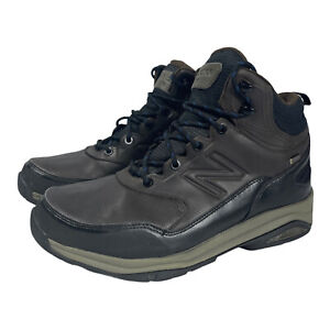 Mens New Balance 1400 Waterproof Hiking Trail Boots Size 9.5 2E Wide MW1400DB