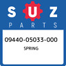 09440-05033-000 Suzuki Spring 0944005033000, New Genuine OEM Part