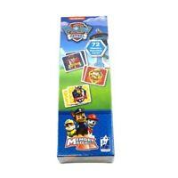 SEALED Paw Patrol Memory Match Game 72 Matching Cards Nickelodeon Chase Marshall