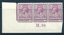 N26 (3) 6d Var Rosso Viola Royal LOTTO controllo M DOT 18 HUNGARIAN unmounted Nuovo di zecca