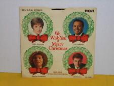 "SINGLE 7"" - WE WISH YOU A MERRY CHRISTMAS - ANDREWS, ANDERSON - JONES, DAMONE EP"
