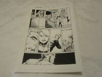 Marvel Captain America Issue #40 Page 8 Original Comic Book Art by Bob Layton