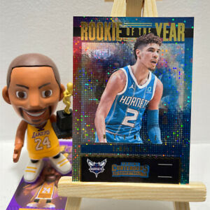 Rookie Of The Year 2020-21 Panini Contenders LaMelo Ball Hornets NBA Card RC #7