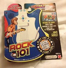New- I Can Play Guitar Software, Rock 101, 2007 Viacom, 6 Songs, Plug and Play