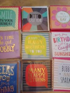 40 JUST SAY CARDS, WHOLESALE JOBLOT GREETING CARDS