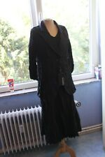 BIANCA superbe robe + veste  noire  , ensemble NEUF   T42  TRÈS ORIGINAL !