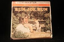 "Run, Joe, Run 1974 Viewmaster ""German Shepherd"" w/3 Reels, & Booklet NBC TV NICE"