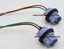 7440 Bulb Socket Brake Light Harness Wire GM Pig Tail Plug 7440LL T20 2-Wire