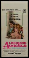 Plakat L'Indomabile Angelica Mercier Hossein Borderie N42