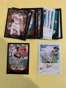 2011 Bowman Baltimore Orioles Team Set 15 Cards With Prospects & Draft