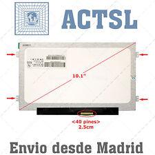 "10.1"" WSVGA LED Display LCD Pantalla Portátil Packard Bell DOT S 018SP dfj"