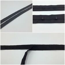 Hook & Eye tape Non Rust Fastening Corset Basques Dress Trimming