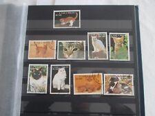 Lot de 9 timbres - S.Tomé E Principe - thème chats