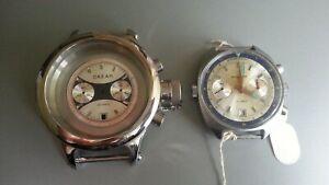 Watch CASE  amphibia Diver Poljot Chronograph 3133 Ocean Ussr  Russia NEW!!