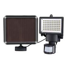 60 LEDs ENERGÍA SOLAR SENSOR DE MOVIMIENTO PIR Lámpara Pared Exterior Con Luces