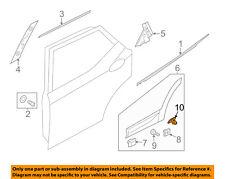 HYUNDAI OEM 13-18 Santa Fe Exterior-Rear-Side Molding Retainer Clip 877562W000