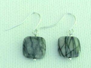 Zebra jasper earrings