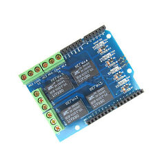 5V 4 Channel Relay Module Arduino Four Channel Relay Shield for Arduino UNO R3 A