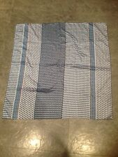George Ladies Square Patterned Polyester Scarf 23 Inches X 23 Inches