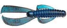 Strike King Rage Tail Ned Bug Black Blue Swirl