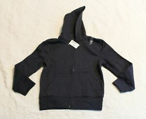 The Children's Place Boys' Uniform Zip Up Hoodie CD4 New Navy Small (5/6) NWT