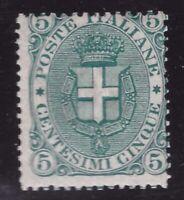 Regno, 5 centesimi del 1891 nuovo **      -CI84