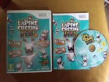 jeu wii the lapins crétins party collection