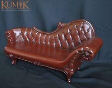 "1/6 scale Kumik Brown Plastic Armrest Sofa Fit for 12"" Action Figure AC-4"