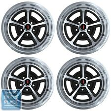 1964-81 Oldsmobile Cutlass Magnum 17 x 7 Wheels Machined Face Set of 4