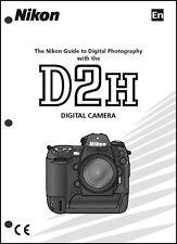Nikon D2H User Manual Guide Instruction Operator Manual